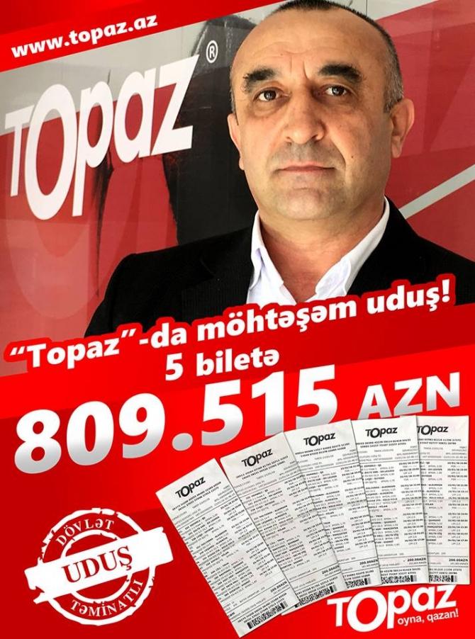 Azərbaycanlı qumarda 810 min manat pul uddu (FOTO)