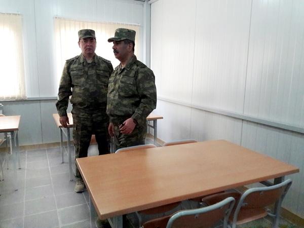 Zakir Həsənov yenə ön xətdə(FOTOLAR)
