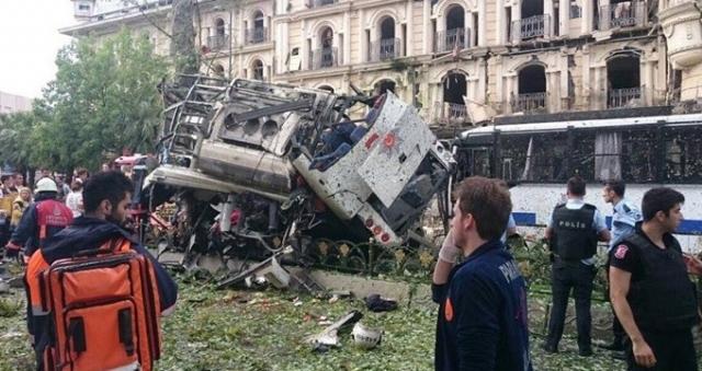 Azərbaycandan İstanbuldakı terror hadisəsi ilə bağlı açıqlama