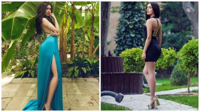 """""""Miss Globe Azerbaijan 2014"""" gözəli mahnı oxudu (AUDİO/FOTO)"""