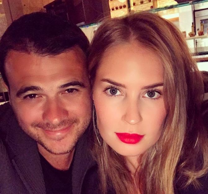 Emin Ağalarov sevgilisi ilə bir arada - FOTO