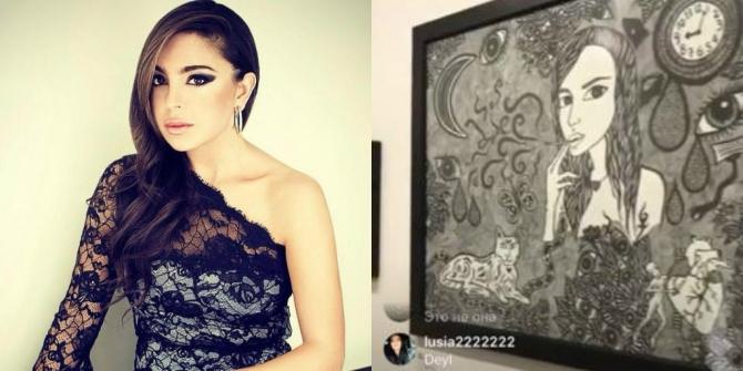 Leyla Əliyeva Instagram-da canlı yayım etdi (FOTO)