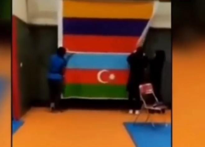 Azərbaycan bayrağına