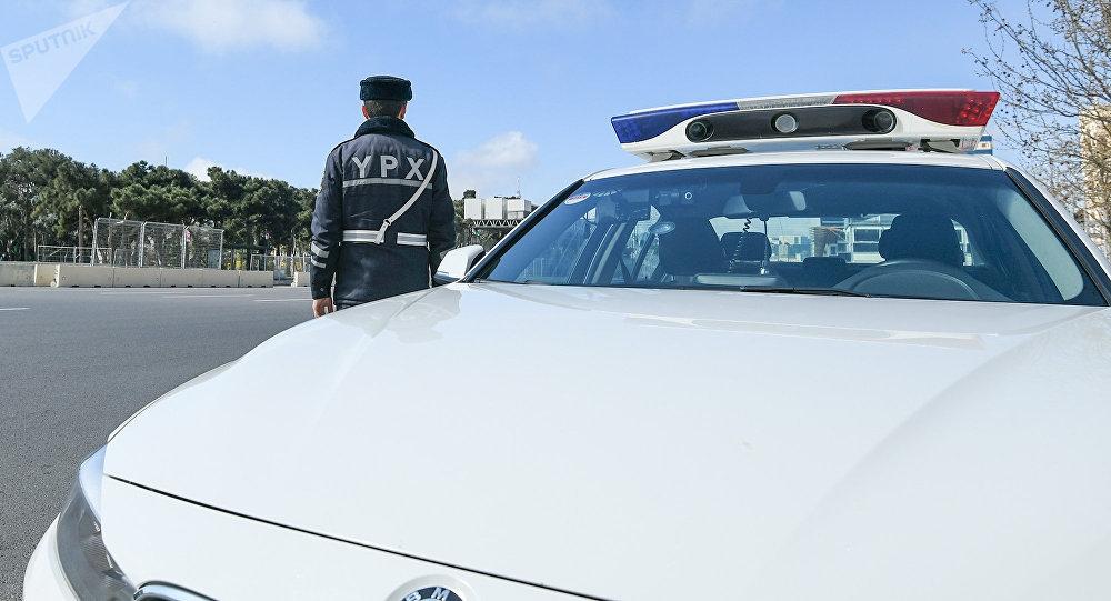 Yol polisi Goranboy rayon sakinini belə xilas etdi - VİDEO
