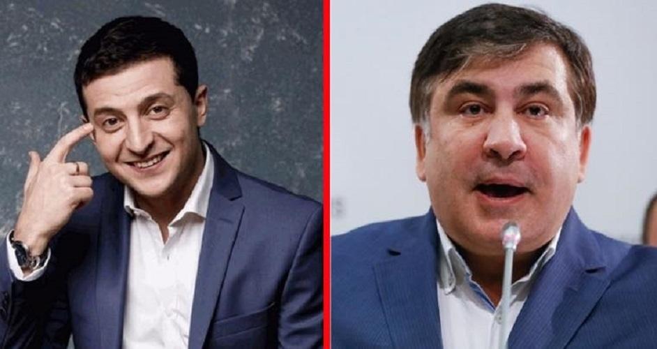 Zelenski Saakaşviliyə vəzifə verir?- AÇIQLAMA