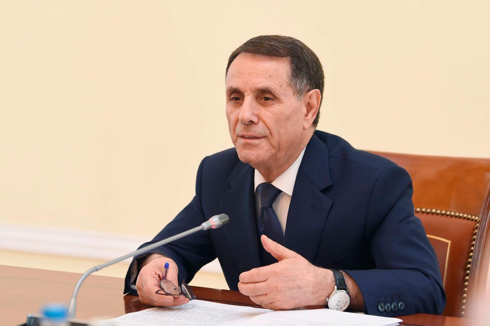 Novruz Məmmədov Yol Hərəkəti Təhlükəsizliyi Komissiyası üzvlərinin Siyahısında dəyişiklik etdi