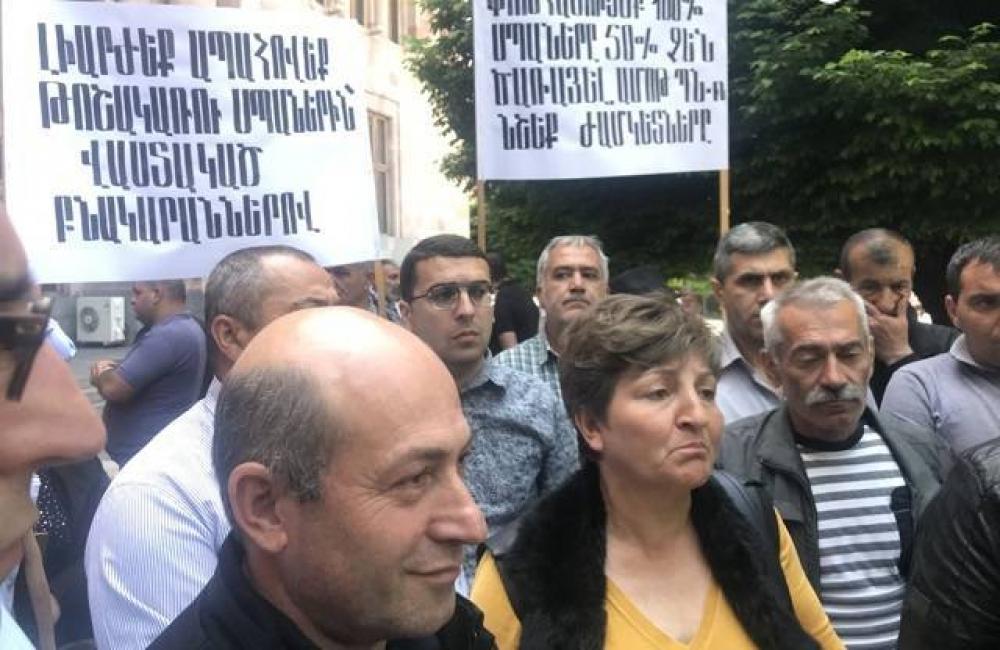 Ermənistanda kütləvi aksiya keçirilir