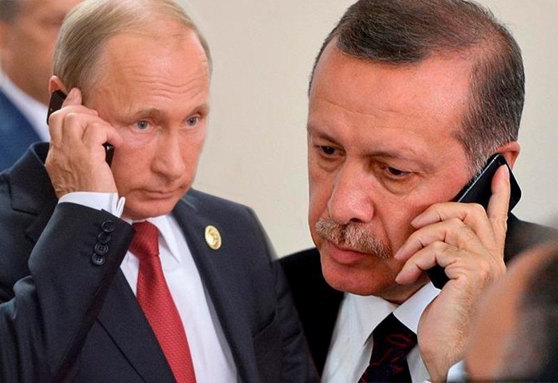 Ərdoğanla Putin arasında vacib telefon danışığı - Türkiyə prezidenti Moskvaya gedir