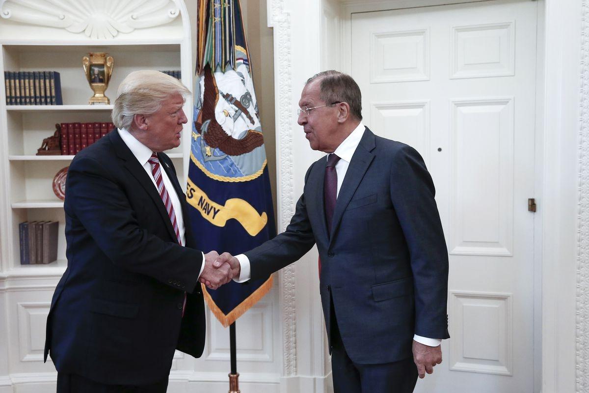 Lavrov Vaşinqtonda Trampla görüşdü