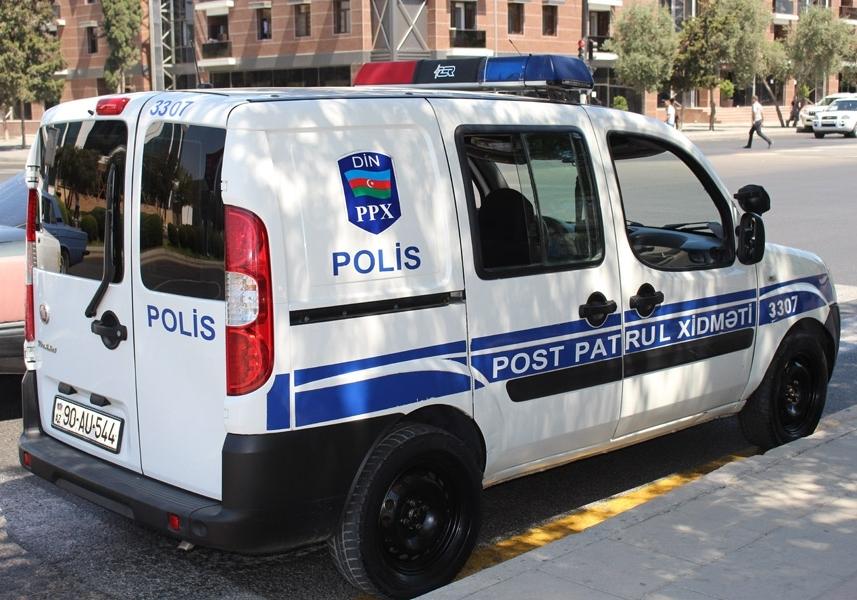 Azərbaycanda 4 polis yaralandı