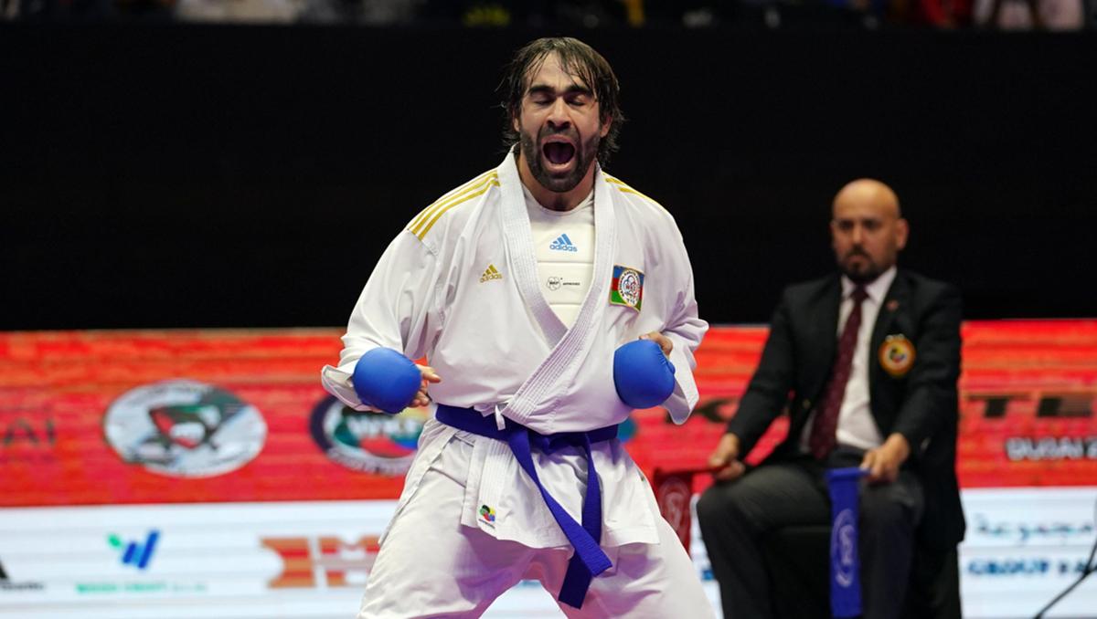Rafael Ağayev Olimpiadaya vəsiqə qazandı - FOTO