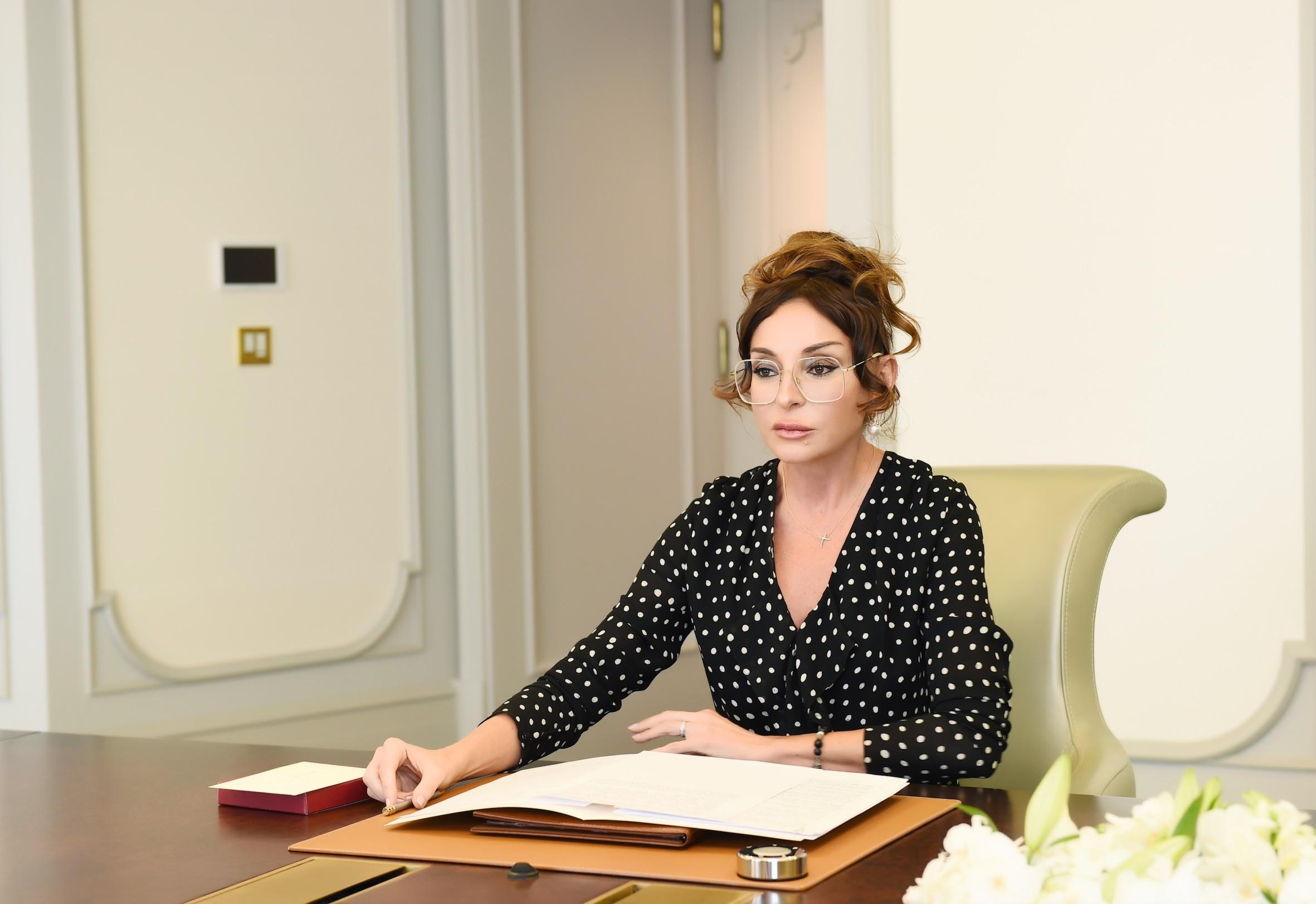 Mehriban Əliyeva autizm sindromlu uşaqlara bayram təbriklərinə görə təşəkkü ...