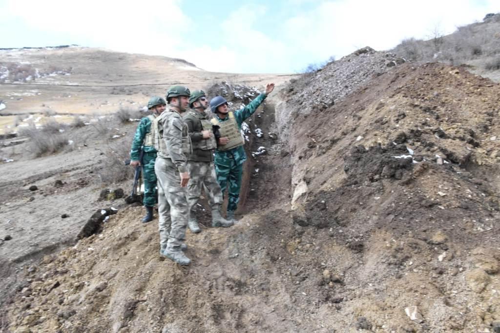 DSX rəisi Ermənistanla sərhədə getdi, tapşırıqlar verdi - FOTO