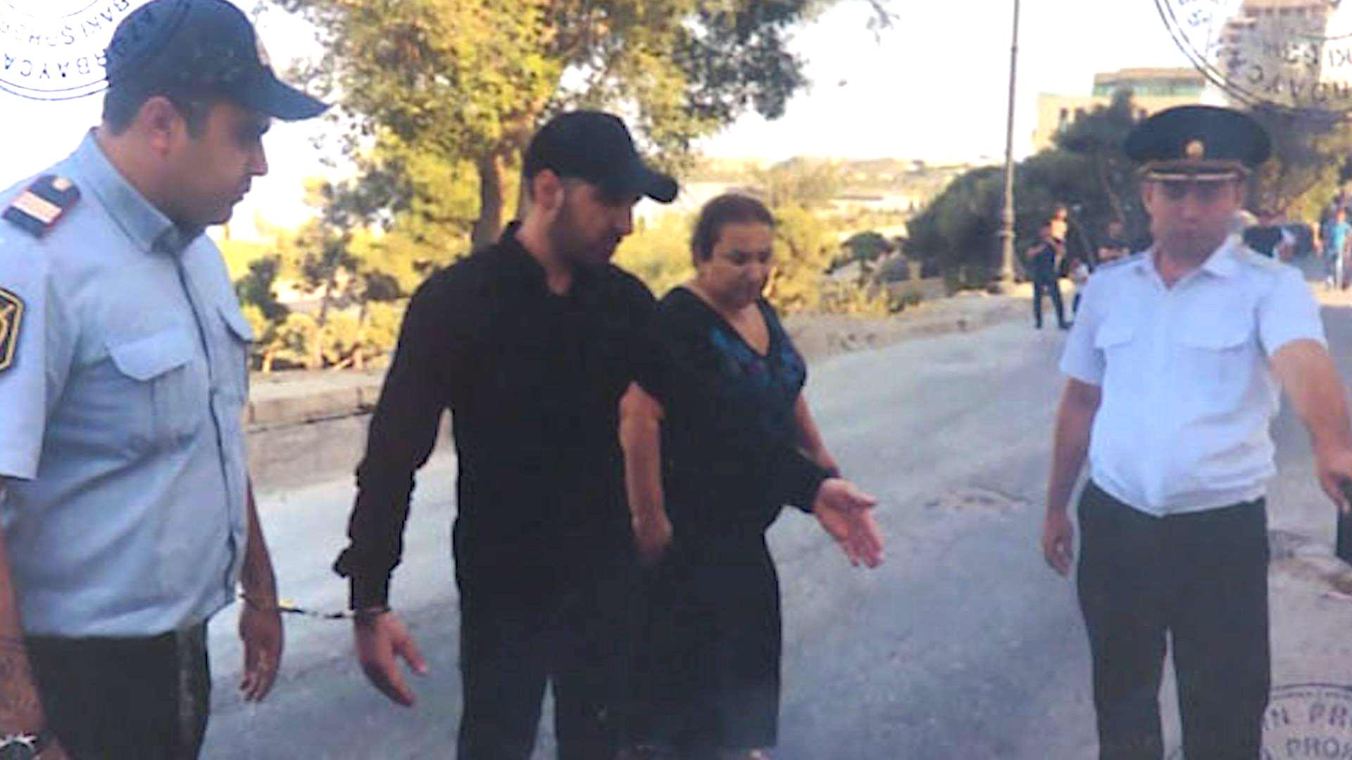 Dostunu öldürüb xarici ölkəyə qaçdı - VİDEO