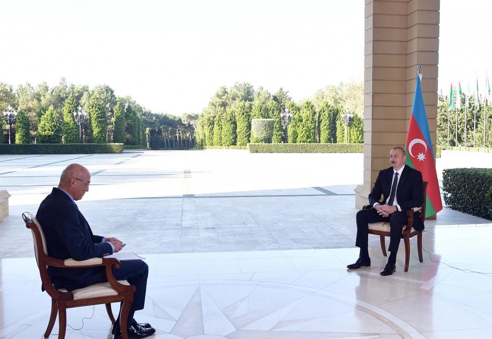 İlham Əliyev Türkiyənin NTV televiziyasına müsahibə verib - CANLI YAYIM