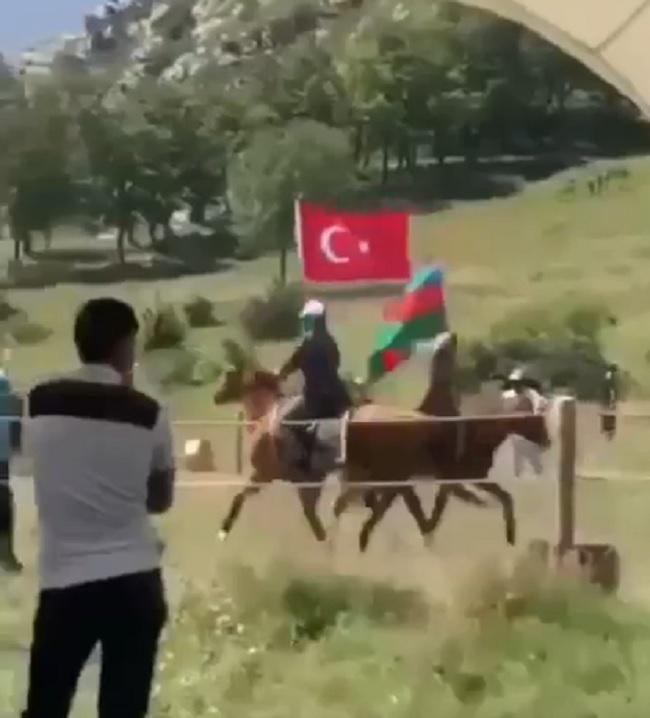 Cıdır düzündən möhtəşəm görüntülər - VİDEO