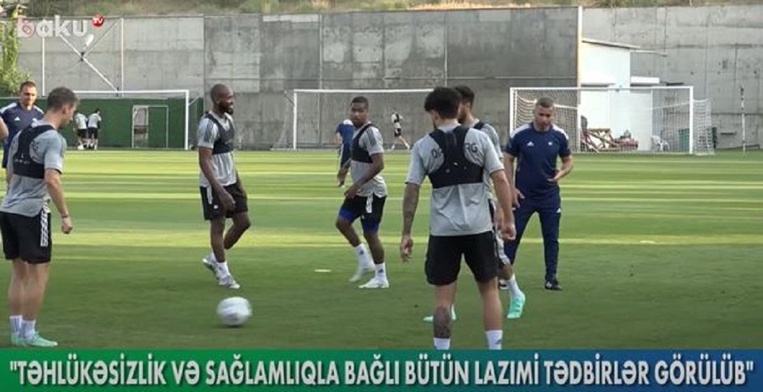 """""""Qarabağ"""" avrokuboklarda ilk matçına necə hazırlaşır? - VİDEO"""