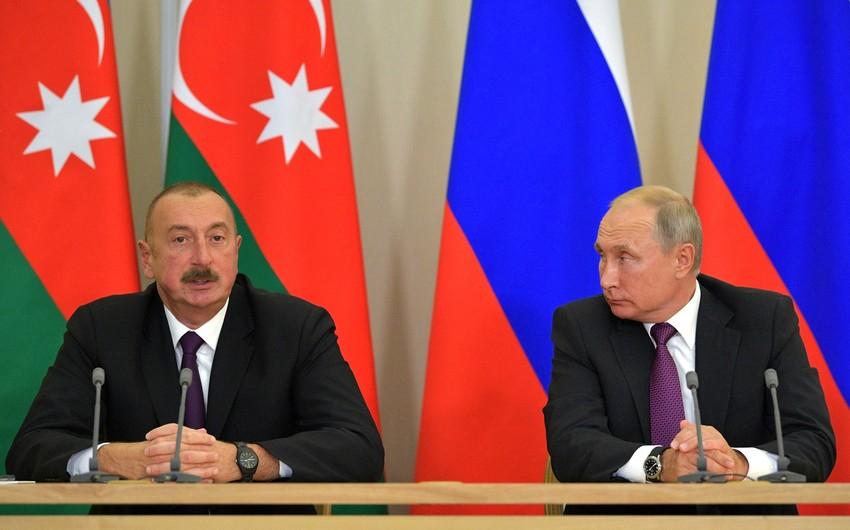 İlham Əliyev Rusiya Prezidentinə başsağlığı verib