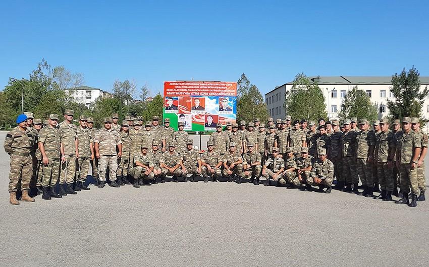 Azərbaycan Ordusunda səmti müəyyənetmə yarışları keçirilir - FOTO
