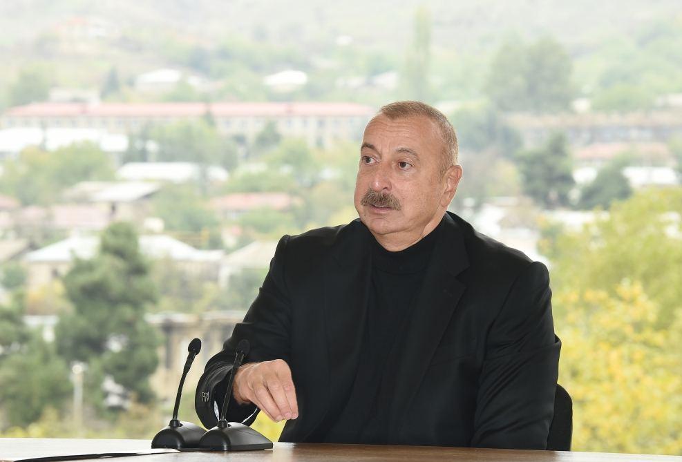 İlham Əliyev Xocavənd ictimaiyyətinin nümayəndələri ilə görüşüb - VİDEO